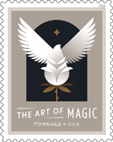 The Art of Magic Stamps, USPS 2018