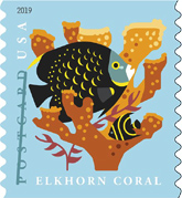 USPS - Coral Reefs Stamps, 2019