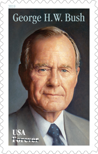 George Bush Forever Stamps