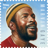 USPS - Marvin Gaye Stamp, 2019