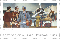 USPS - Post Office Mural Stamp, 2019