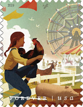 USPS - State and County  Fairs, 2019