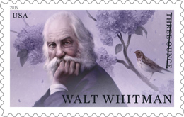 USPS - Walt Whitman Stamp, 2019