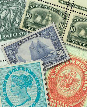 Stamps from the Crossings BNA Collection
